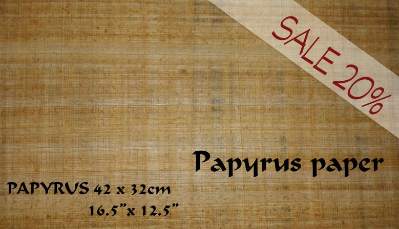 papyrus paper for sale Product features use this papyrus effect paper to create an ancient appeal, and - for.