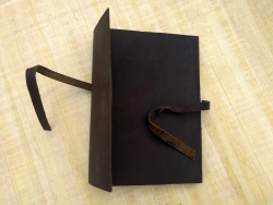 Handemade Vintage Leather Journal Notebook 50 Egyptian Papyrus papers