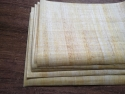 """10 Papyrus Paper for printing light color A4 papyrus size 8.5""""x11"""" Print on Egyptian papyrus paper at home"""